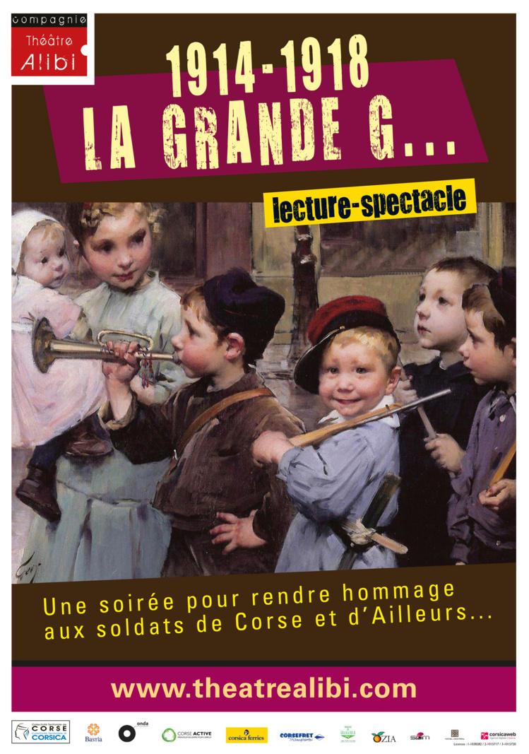 LECTURE - SPECTACLE : 1914-1918 LA GRANDE G...