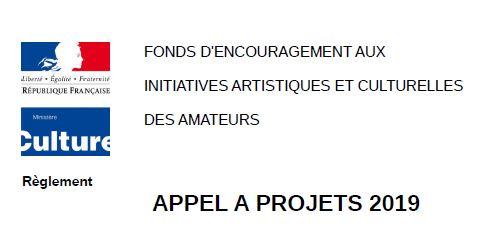 Fonds d'encouragement aux initiatives artistiques et culturelles des amateurs
