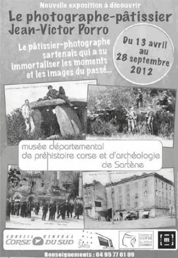 EXPOSITION : LE PHOTOGRAPHE PATISSIER JEAN VICTOR PORRO