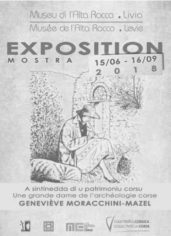 EXPOSITION : GENEVIEVE MORACCHINI MAZEL UNE GRANDE DAME DE L'ARCHEOLOGIE CORSE